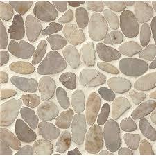 bedrosians sliced pebble 12 inch x 12 inch tile pack of 11