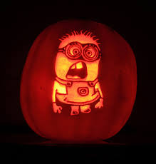 Minions Pumpkin Carving Pattern by Minion Character Pumpkin Carving From My Son Robin Flickr