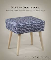 Sewing Cabinet Plans Instructions by Build A No Sew Footstool U2039 Build Basic