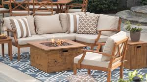 Patio Furniture Conversation Sets With Fire Pit by Patio Conversation Sets With Gas Fire Pit Home Outdoor Decoration