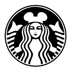 Starbucks Logo With Mickey Ears