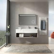 badzubehör textilien badspiegel mit led beleuchtung mit