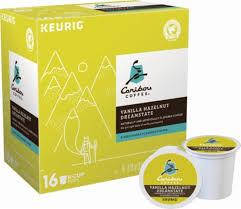 Caribou Coffee Vanilla Hazelnut K Cup Pods 16 Pack 5000195831