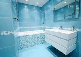 badezimmer blau gestalten blaue fliesen bad
