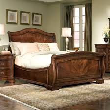 Queen Bed Frame For Headboard And Footboard by Bedroom Cherry Sleigh Bed Queen Bed Frame And Headboard Full
