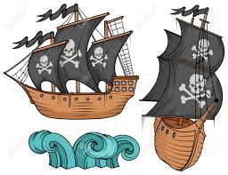 100 Design A Pirate Ship Pirate Ship Or Boat Illustration Isolated On White Background