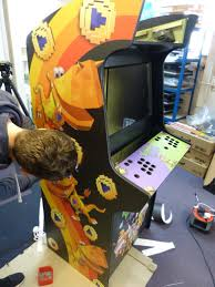 Build Arcade Cabinet With Pc by Interview Creating The Wondrous Yooka Laylee Arcade Machine
