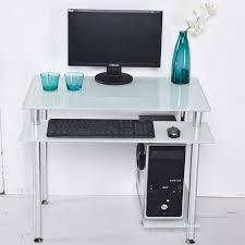Ebay Corner Computer Desk by Desktop Computer Desk Home Table Glass Minimalist Corner Small