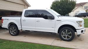 100 Black Ford Truck OEM 20 Wheels On A Oxford White Silver Or F150