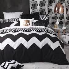 White And Black Bedding by Marley Black Quilt Cover Set By Logan U0026 Mason Just Bedding