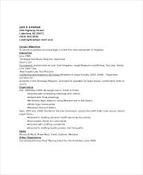 paralegal resume template 7 free word pdf documents