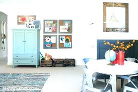 Playroom Decor Small Design Ideas Colorful Pictures Dining Room