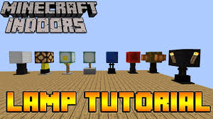 How To Make Lamps In Minecraft