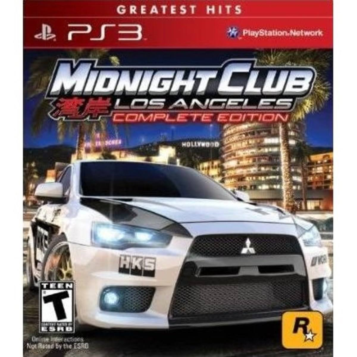 Midnight Club: Los Angeles Complete Edition - PlayStation 3