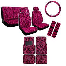 Betty Boop Seat Covers And Floor Mats by New Safari Animal Print Premium Seat Covers Floor Mats Set Custom
