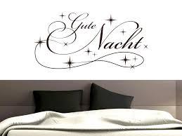 wandtattoo für schlafzimmer wandtatoo aufkleber sprüche gute nacht sterne