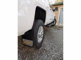 100 Chevy Truck Mud Flaps 20142018 Silverado Gold Bowtie Gatorback Flap Set