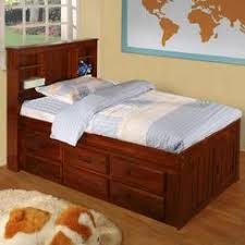 Pine Twin Captains Bed