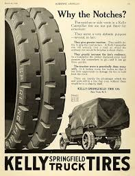 100 Kelly Truck Tires 1920 Ad Springfield Tire Co Pneumatics Caterpillar Parts