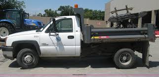 100 Chevy 3500 Dump Truck For Sale 2004 Chevrolet Silverado Dump Bed Truck Item H5303