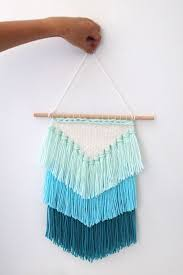 DIY Weaving How To Make A Tassel Wall Hanging