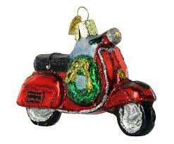 Amazon Old World Christmas Motor Scooter Ornament Home Kitchen