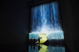 Halloween Ghost Projector by Digital Waterfalls With Projection Mapping Projection Mapping