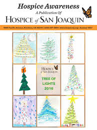 Delancey Street Christmas Trees Santa Monica by 2016 Tol Newsletter Inserts 01092016 By Hospice Of San Joaquin Issuu