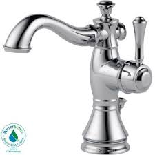 Delta Cassidy Bathroom Faucet Home Depot by Delta Cassidy Single Hole Single Handle Bathroom Faucet With Metal