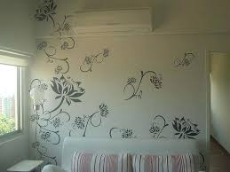 Decorative Wall Painting Patterns Ing S Ideas For Bedroom