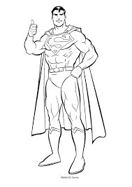Superman Coloring Pages Free Printable 25151
