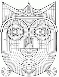Collection Of Solutions Free Printable Geometric Coloring Pages Adults To Print For Letter Template
