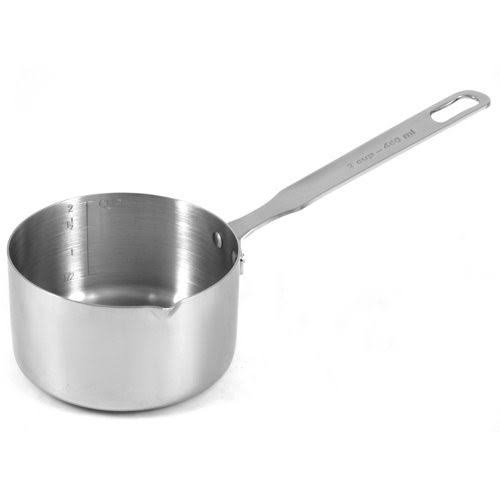 Rsvp Endurance Stainless Steel Measuring Pan - 2 Cup