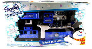 Frosty Snowman White Christmas Tree by Amazon Com Frosty The Snowman Grand Arctic Express Train Set G