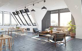 100 Loft Designs Ideas Rendering Plans Illustration Apartment Studio Decorating