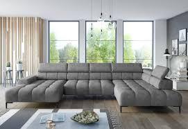 wohnlandschaft u form cobra xl onlineshop i sofa bett