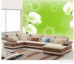 großhandel neue 2019 benutzerdefinierte tapete tv hintergrund tapeten wandbild wohnzimmer sofa schlafzimmer videowand nahtlose wandverkleidung