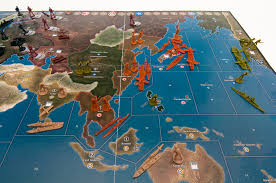 Axis Allies 1941 Preview Game Setup Map