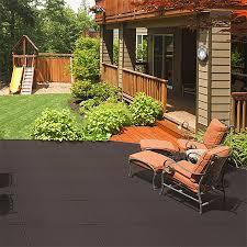 Outdoor floor tiles rubber patio tiles outdoor recycled rubber