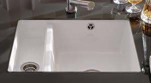 sink horrible kohler porcelain kitchen sink care shining