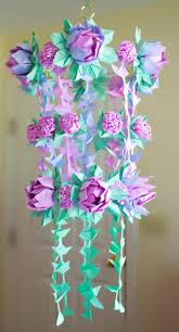 DIY Paper Flower Chandelier Using Origami Techniques Heidi Swapp Inspired
