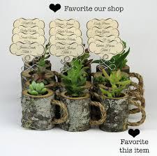 Flower Shops 12 Rustic Place Card Holders Wedding Holder Wood