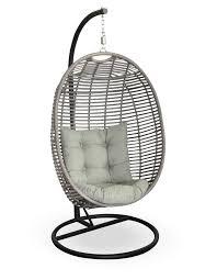Papasan Chair Cushions Uk by Furniture Rattan Outdoor Papasan Chair With Blue Cushion Seat For