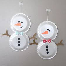 Christmas Snowman Crafts For Kids On Snow Man Arts Fun By