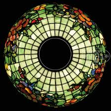 tiffany studios nasturtium table lamp stained glass lshades