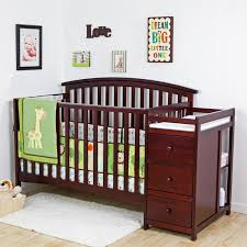 Side Crib Attached To Bed by Sorelle Tuscany 4 In 1 Convertible Crib And Changer Combo Hayneedle