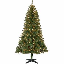 5ft Black Pre Lit Christmas Tree by Holiday Time Pre Lit 6 5 U0027 Madison Christmas Tree Green Clear
