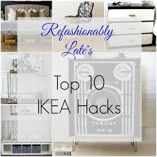 Ikea Secretary Desk With Hutch by Friday Favorite Top 10 Ikea Hacks Refashionably Late