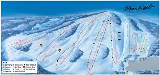 Pine Knob Ski Resort Trail Map