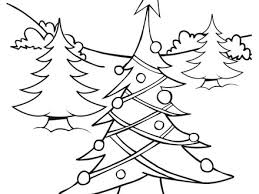 Christmas Tree Lights Coloring Pages Hellokidscom